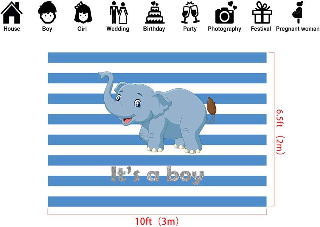 Kate 10x6.5ft Boy Baby Shower Backdground Microfiber Welcome Boy Baby Shower Backdrop Baby Shower Decorations Photography Backdrops