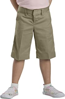 Size: 20.5 Color: Black Dickies Kr011 GirlS Classic Short Plus Sizes