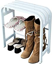 Household Shoe Rack Change Shoe Bench White Boots Holder Hallway Storing Storage Cabinet Entrance Furniture (No Need to In...