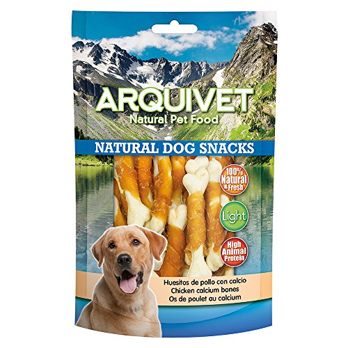 Arquivet Huesitos de Pato con Calcio - Snacks Perros - Natural Dog Snacks - 100 g