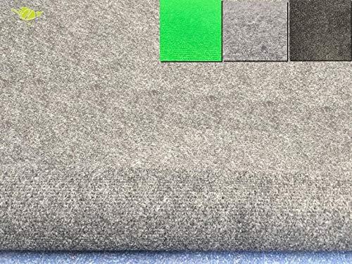 Moquette dextérieur | dimensions et couleurs au choix | tapis artificiel idéal pour terrasse, piscine, balcon, garage ou salle de jeux etc. | revêtement de sol outdoor(200 x 200 cm, Gris clair)