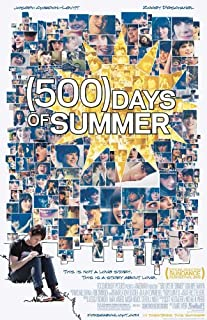 500 Days of Summer Poster 27x40 Zooey Deschanel Joseph Gordon-Levitt Matthew Gray Gubler