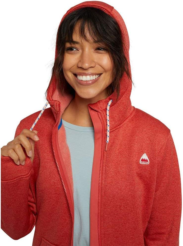 Burton - Veste Oak Full Zip Tnihtr/Barren Femme - Femme - Bleu Cranberry Heather