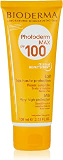 كريم الوقاية من الشمس فوتوديرم ماكس لايت من بيوديرما، 100 كريم حليب بحماية عالية من أشعة الشمس، 100 مل