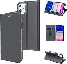 MTRONX for Apple iPhone 11 Case, Magnetic Closure Kickstand Card Slot Flip Case Cover, Slim Magnet Stand Design, PU Leathe...