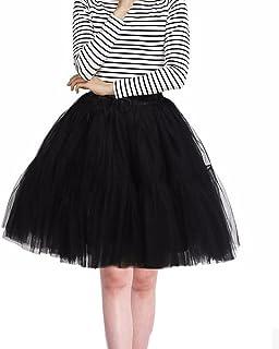 c09ba257232 Imixcity Femme Rétro 50s Style Année Tutu Jupon Rockabilly Audrey Hepburn  Petticoat-6 Couches