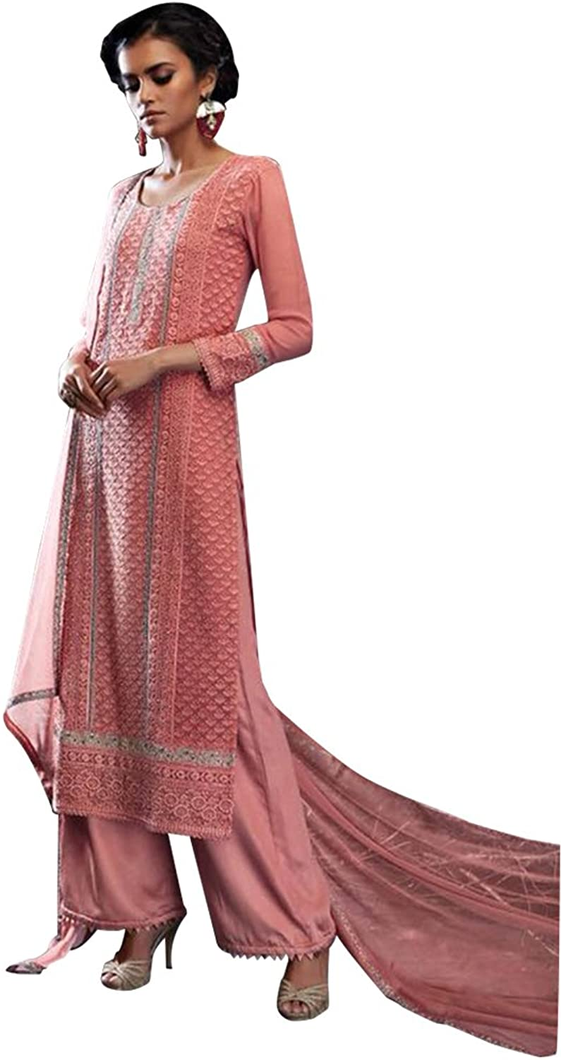 Bollywood Anarkali Dresses for women Salwar Kameez Ceremony Wedding Punjabi 752 2