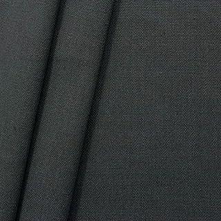 STOFFKONTOR 100% Baumwolle Canvas Stoff Meterware Anthrazit