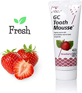 GC Tooth Mousse New Sugar Free With Fresh Strawberry