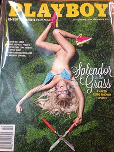 PLAYBOY MAGAZINE---SEPTEMBER 2013 ISSUE