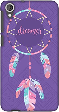 AMZER Slim Fit Handcrafted Designer Printed Hard Shell Case Back Cover for HTC Desire 820, 820G Plus - The Dreamer