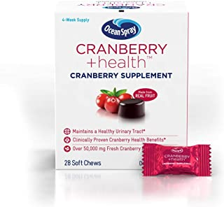 Ocean Spray Cranberry Plus Health Soft Chews, 28 Count