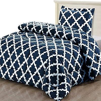 Utopia Bedding Printed Comforter Set (3PC)