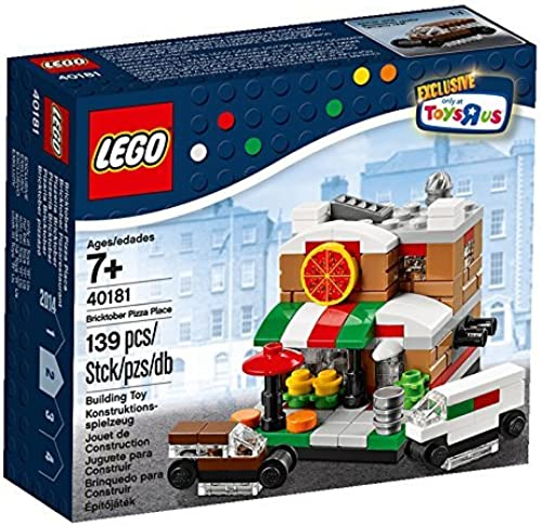 Lego, Exclusive 2014 Bricktober Set, Pizza Place  2 4 (40181) by LEGO