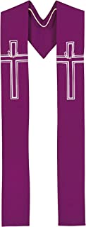 Crown of Thorns - Purple Clergy Stole
