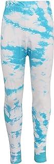 Kids Girls Leggings Tie Dye Blue Print Stylish Fahsion Trendy Dance Legging 5-13