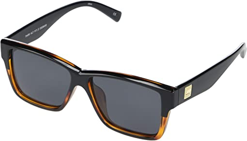 Black/Tortoise Smoke Mono Polarized