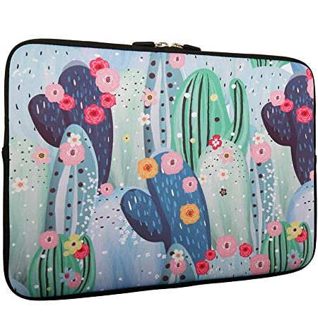 Neoprene Sleeve Laptop Handbag Case Cover Abstract Illustration of Two Japanese Cranes Patchword Portable Laptop//Ultrabooks Case Bag Cover 15-15.6 Inch