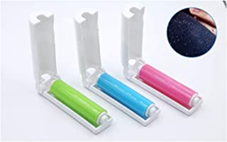 Lightweight Sticky Wool Portable Washable Dust-removing Cotton Roller With Covering For Wool Sheets Convenience (Color : P...