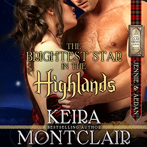 The Brightest Star in the Highlands: Jennie and Aedan audiobook cover art