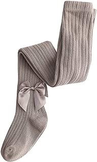 Ucoolcc Kinder Strumpfhose f/ür M/ädchen Einfarbig Leggings Strumpfhosen mit Aush/öhlen Bogen Soft Winter Anti-Rutsch Warme Strumpfhosen Mehrere Farben und Gr/ö/ßen