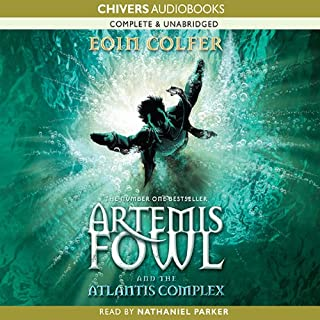 The Atlantis Complex: Artemis Fowl, Book 7 cover art