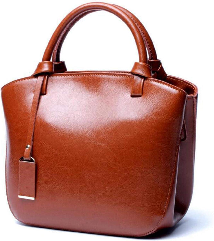 Women Genuine Leather Shoulder Crossbody Bag