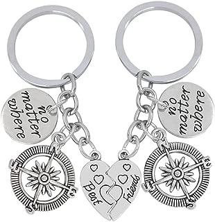 DEYYA Memorial Day Leather Key Case Wallets Unisex Keychain Key Holder with 6 Hooks Snap Closure