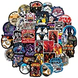 Trendy Stickers for Star War|100 Pcs|Waterproof Laptop Stickers Pack for Teens Adults|Cool Decals Stickers for Waterbottle Flasks Computer Laptop Bicyle Car Tablet Phone Luggage Case.