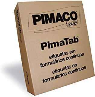 Pimaco Etiqueta Adesiva, BIC, 874957, Branco, 500 etiquetas