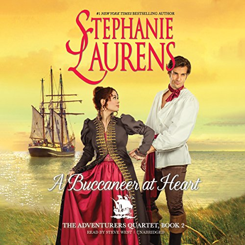 A Buccaneer at Heart audiobook cover art