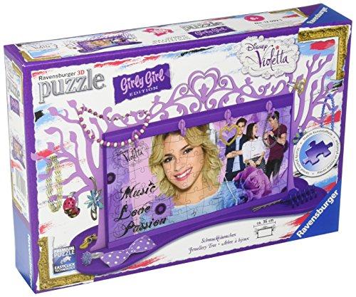 Schmuckbäumchen - Violetta Girly Girl Edition. Puzzle: Erle
