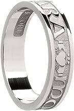 Women's Sterling Silver Mo Anam Cara Wedding Band Ring