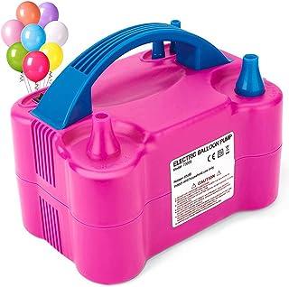 Epzia Electric Balloon Pump, Dual-Nozzle Portable Balloons Air Pump for Balloon Arch, Balloon Garland, Party Decorations, ...