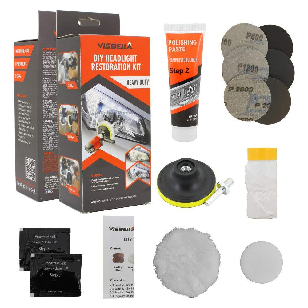 Visbella Headlight Restoration Ultimate Protection
