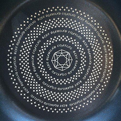 パール金属フライパン26cmIH対応ライズブルーダイヤモンドコートHB-317
