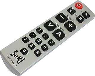 Seki Grande Télécommande universelle avec fonction d'apprentissage Argent (Import Allemagne)