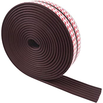 Baby Proofing Edge Guards 29.5ft Edge Protectors, 3M Pre-Taped, for Table, Desk, Fireplace(Brown)
