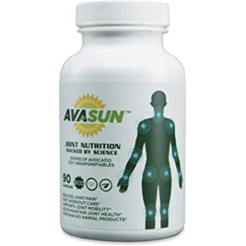 AvaSun, Joint Nutrition Backed by Science, Avocado Soy Unsaponifiable, 300Mg, 90 Day Supply