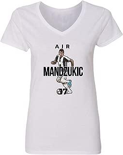 Juventus Mario Mandžukic Air Mario Mandzukic Soccer Women's V-Neck T-Shirt
