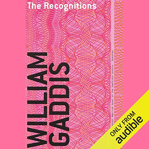 The Recognitions audiobook cover art