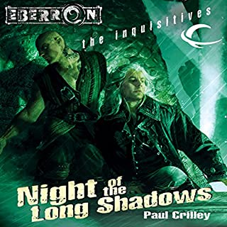 Night of the Long Shadows audiobook cover art