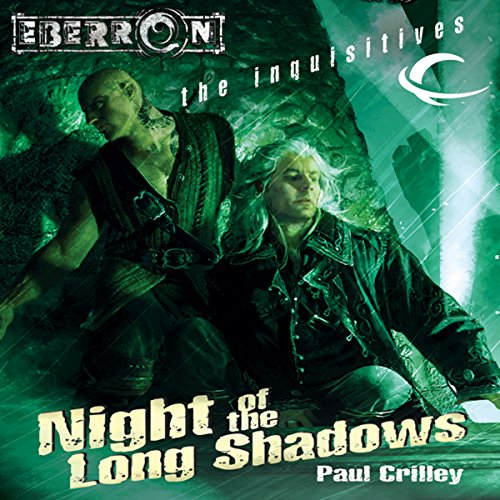 Night of the Long Shadows Audiobook By Paul Crilley cover art