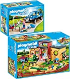 PLAYMOBIL 9275-78 City - Cuidado de Animales Set 4 (2 Juegos)