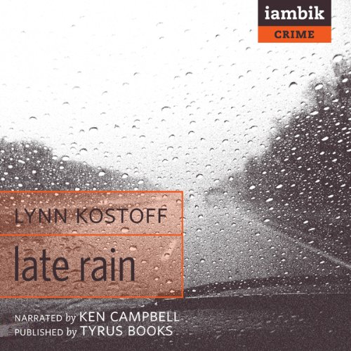Late Rain audiobook cover art