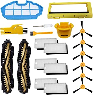 aoteng Replacement Parts for Ecovacs Deebot N79 N79S Robot Vacuum Cleaner Accessories Kit Pack of Main Brush, Hepa Filter, Primary Filter, Side Brush, Main Brush Cover