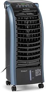 KLARSTEIN Maxfresh - Enfriador de Aire 3 en 1, Climatizador evaporativo, 55 W, 444 m³/h, 4 velocidades, 3 Modos: Normal, Naturaleza, Noche, Temporizador hasta 15 h, Capacidad: 6 L, Azul