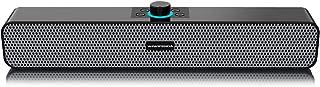 GoolRC L6 Desktop Speaker Wireless Bluetooth 5.0 Speakers Home Theater Soundbar AUX IN USB TF Card Music Playback for TV L...
