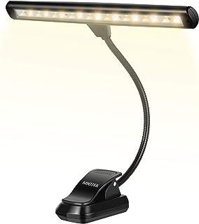Kootek Mustic Stand Lights, Upgraded 18 LED Clip on Light Mu