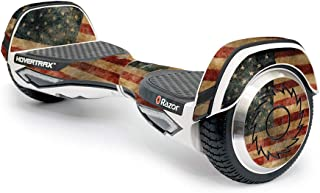 MightySkins Skin Compatible with Razor Hovertrax 2.0 Hover Board Self-Balancing Smart Scooter wrap Cover Sticker Skins Vintage Flag
